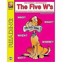 The Five W's - Reading Level 1