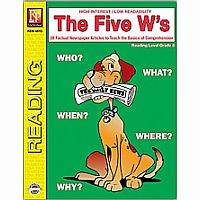 The Five W's - Reading Level 5
