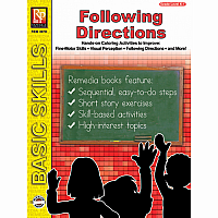 Following Directions - Grade K - 1