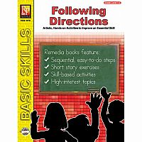 Following Directions - Grade 1-2