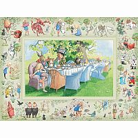 Alice's Adventures in Wonderland 400 pc Family Puzzle