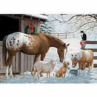 Barnyard Greetings 35 Piece Tray Puzzle