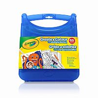 Create & Colour Super Tips Washable Markers Kit