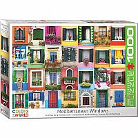 Mediterranean Windows - 1000pc. Puzzle
