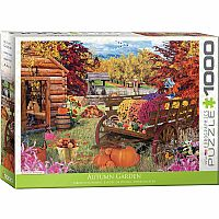 Autumn Garden - 1000 Piece Puzzle