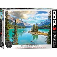 Maligne Lake, Alberta - 1000pc. Puzzle