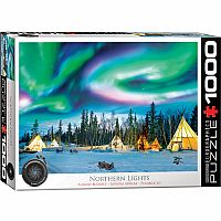 Northern Lights - 1000 Piece Puzzle