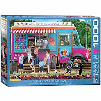 Dan's Ice Cream Van - 1000pc, Puzzle
