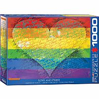 Love & Pride! - 1000 Piece Puzzle