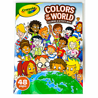 Colours of the World 48 Page Colouring Book