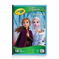 Disney Frozen 2: Giant Colouring Pages
