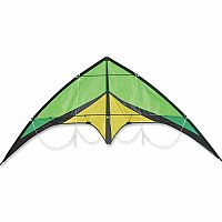 "72"" Green Addiction Pro Sport Kite"