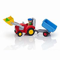 123 Tractor With Trailer