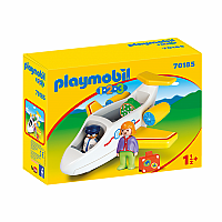 Playmobil 123 - Plane with Passenger