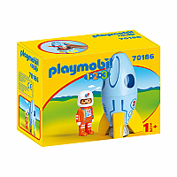Playmobil 123 - Astronaut with Rocket