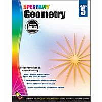 Geometry Workbook, Grade 5