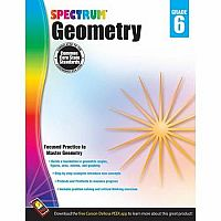 Geometry Workbook, Grade 6