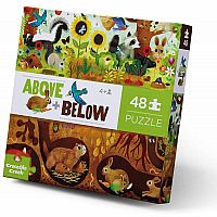 Above + Below: Backyard Discovery - 48 Piece Floor Puzzle