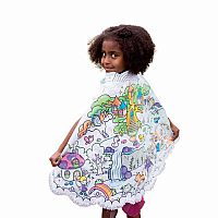 Colour Me In - Fairy Princess Cape