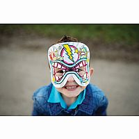 Colour Me In - Super Hero Mask