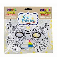 Colour Me In - Butterfly Mask