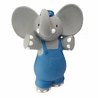 Alvin Elephant - Rubber Squeaker Toy