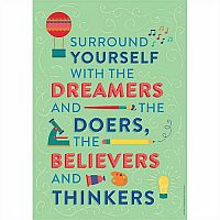 Dreamers and Believers Classroom Poster