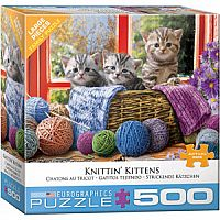 Knittin' Kittens - 500pc. Puzzle