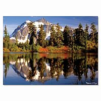 300 pc Mountain Reflection Cardboard Jigsaw
