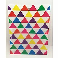 Large Colour Triangles Poly Pockets