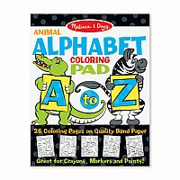 Animal Alphabet Colouring Pad