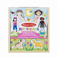 Best Friends - Magnetic Dress Up