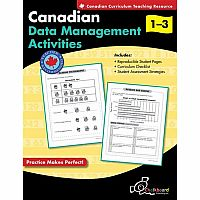 Canadian Data Management Activities Gr. 1-3