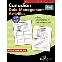 Canadian Data Management Activities Gr. 4-6