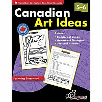 Canadian Art Ideas Grades 5-6