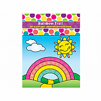 Do-A-Dot Rainbow Trail - Creative Activity Book