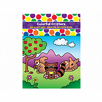 Do-A-Dot Colorful Critters - Creative Activity Book