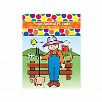 Do-A-Dot Farm Animal Friends - Creative Activity Book