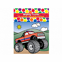 Do-A-Dot Mighty Trucks - Creative Activity Book