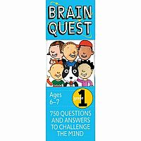Brain Quest Grade 1 by Feder, Chris Welles