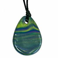 Chewigem Aurora Raindrop Pendant - Purple/Green/Blue