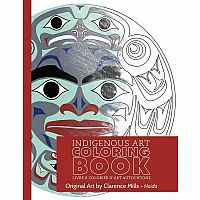 Clarence Mills: Haida Colouring Book