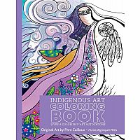Pam Cailloux: Huron/Algonquin Metis Colouring Book