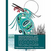 Richard Shorty: Northern Tutchone Colouring Book