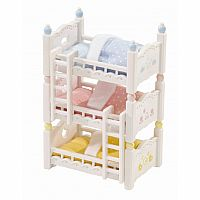 Triple Baby Bunk Beds-Calico Critters