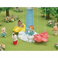 Baby Airplane Ride-Calico Critters