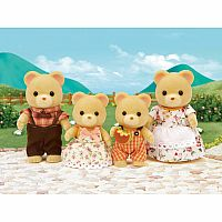 Cuddle Bear Family-Calico Critters