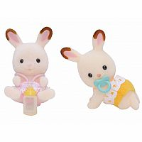 Hopscotch Rabbit Twins-Calico Critters