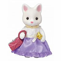 Lulu Silk Cat-Town Girl Series-Calico Critters