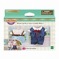 Navy & Light Blue Dress Up Set-Calico Critters